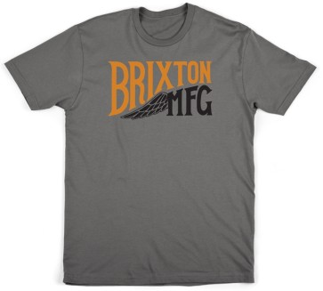 Brixton Girder T-Shirt charcoal