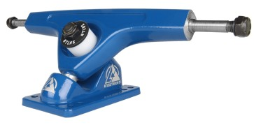 Atlas 180 mm forged longboard trucks blue