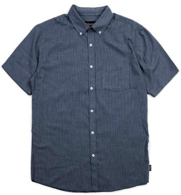 Brixton Arthur short sleeve shirt woven navy