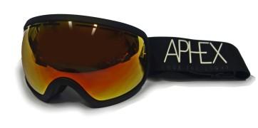Aphex Baxter goggle black - revo red lens