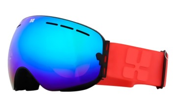 Aphex Krypton junior goggle black - revo blue lens