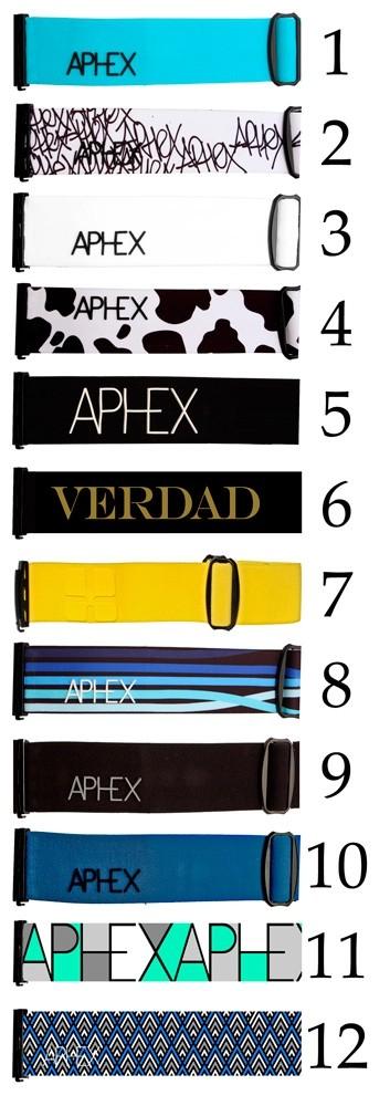 Aphex Universal goggle strap