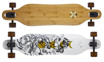 Arbor Axis 40'' bamboo complete longboard