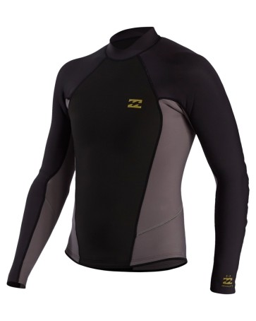 Billabong Absolute 202 thermo shirt L/S charcoal