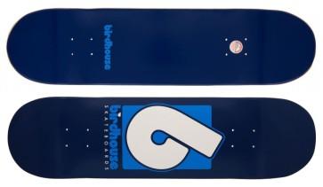 "Birdhouse Logo deck B logo 8.375"" blue"