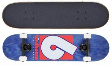"Birdhouse Stage 3 B logo 7.75"" skateboard navy-red"