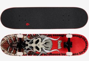 "Birdhouse Stage 3 Hawk Gladiator 8.125"" skateboard red"