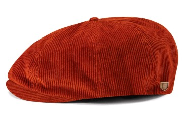 Brixton Brood Snap cap amber