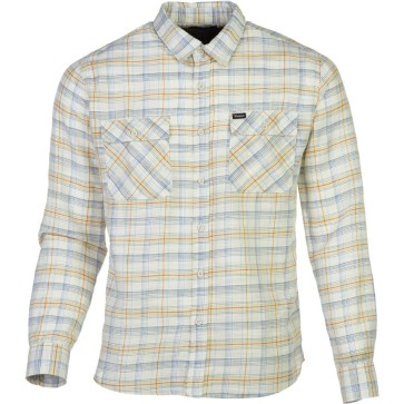 Brixton Memphis long sleeve shirt woven cream