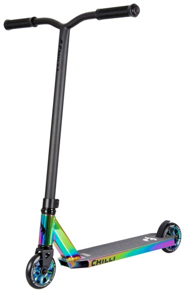Chilly Base stunt scooter green