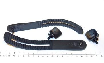 Drake Ankle strap S/M L black (pcs)