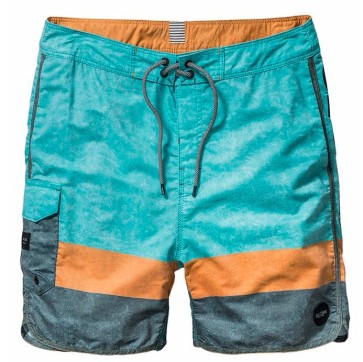 "Globe Blocker 18"" boardshort washed mint"