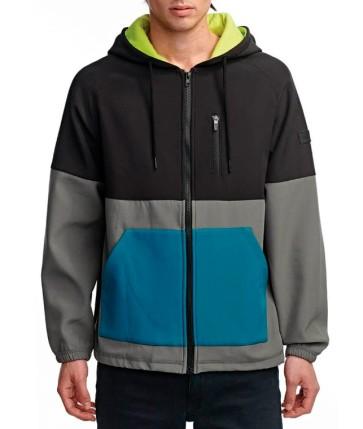 Globe Hazard hooded jacket seaspray