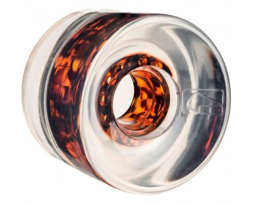 Globe Icon Wheel clear tortoise core 65mm 78A