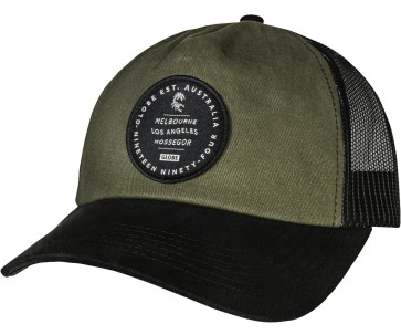 Globe Origins trucker cap army