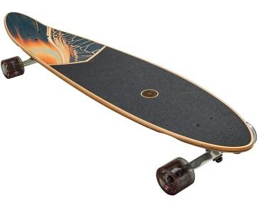 """Globe Pinner 40"""" complete longboard blue fade dye"""