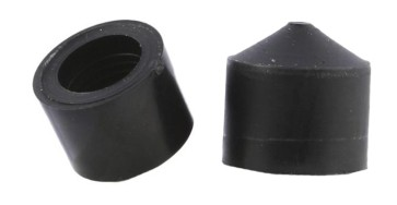 Independent pivot cups black (Set)