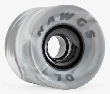Hawgs Supreme wheels 70 mm 78a grey swirl