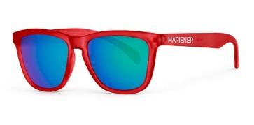 Mariener Melange Frozen red flexframe sunglasses