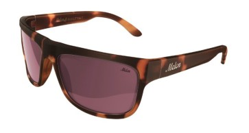 Melon Halfway tortoise brown amber polarised sunglasses
