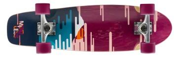 "Mindless Sunset 28"" cruiser longboard  burgondy"