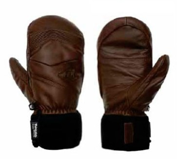 Picture Mc Pherson leather mittens yellow 10K