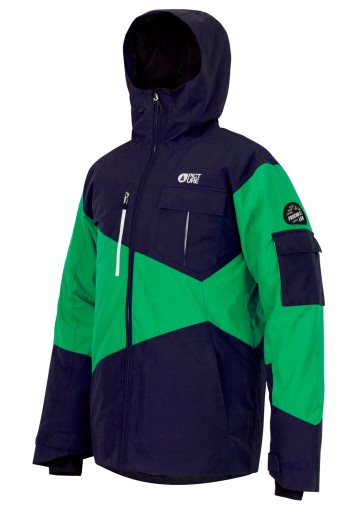 Picture Styler snowboard jacket dark blue brick 10K
