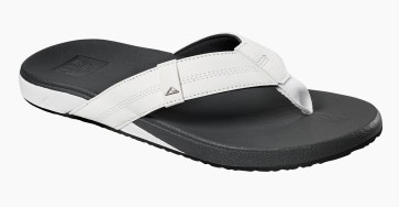 Reef Cushion Phantom slippers white charcoal