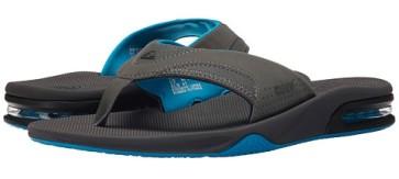 Reef Fanning slippers gunmetal blue