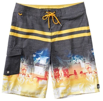 Reef Main orange boardshort