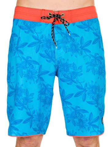Reef Pasiflora boardshort blue