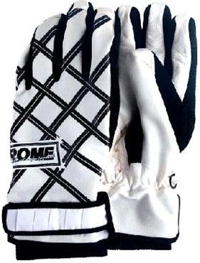 Rome Reign snowboard gloves black-white
