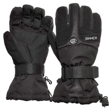 Sinner Everest ski glove black