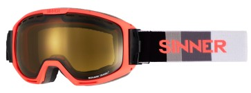 Sinner Mohawk goggle neon-red polarized S1-S3