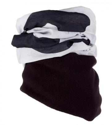 Sinner White Logo fleece bandana