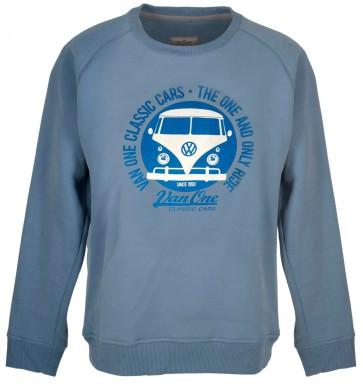 Van One Classic Cars Bulli Face Classic VW sweatshirt