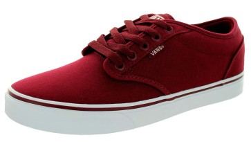 Vans Atwood Canvas shoes red white