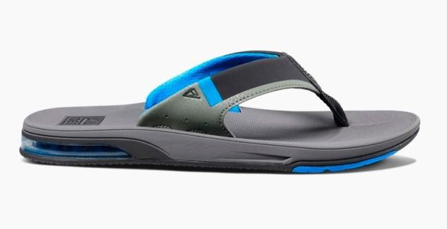 dcd56318776 Reef slippers kopen groningen, Reef Fanning slippers marine blauw-grijs