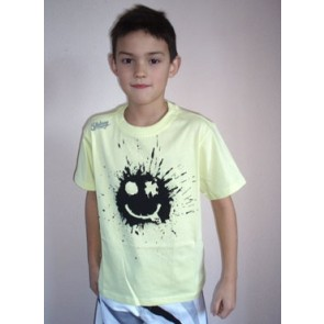 Billabong Smiley T-shirt electric yellow