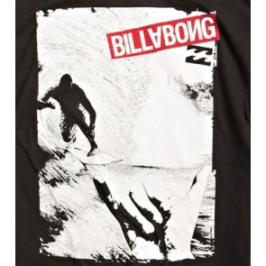 Billabong Righthander jongens T-shirt zwart