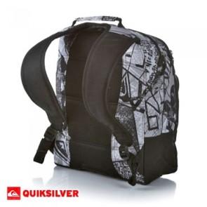 Quiksilver Primary rugtas zwart-wit 22L