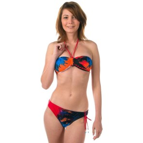Roxy Photoprint regular tie sides bikini