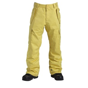 Quiksilver Porter Insulated pant maize