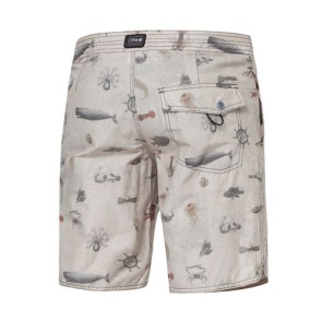 O'Neill Odyssey Boardies boardshort white aop