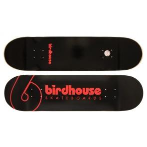 "Birdhouse Logo skatebaord deck Team logo 8.25"" black"