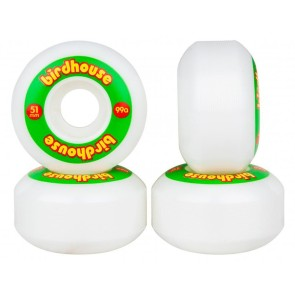 Birdhouse logo skate wheels 51 mm rasta