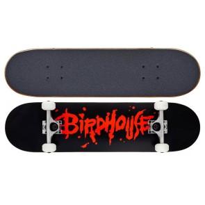 "Birdhouse Opacity Logo 2 red 8"" skateboard complete"