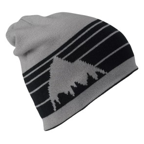 Burton Billboard reversable beanie true black / iron grey