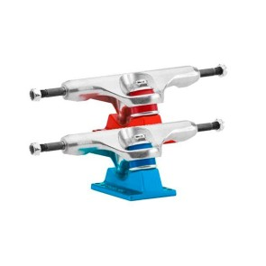 "Caliber Standard 9"" axle II trucks 160 mm raw/satin red or blue"