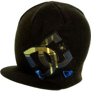 DC All Out visor beanie black blue